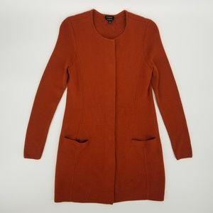 Talbots Merino Wool Long Cardigan Sweater Coat